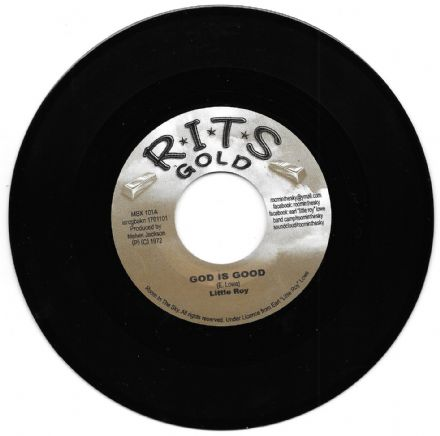 SALE ITEM - Little Roy - God Is Good / Little Roy - Version Is Good (RITS Gold) UK 7""